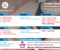 Autumn class timetable at BWell Gym
