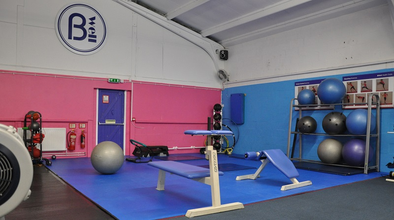 New matted area - Gym Improvements