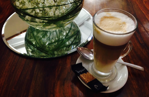 Enjoy a half price coffee on Tuesday and Thursday mornings