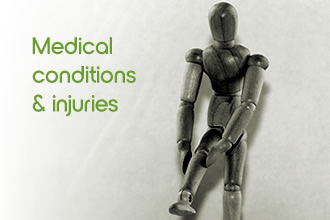 Medical conditions / injured